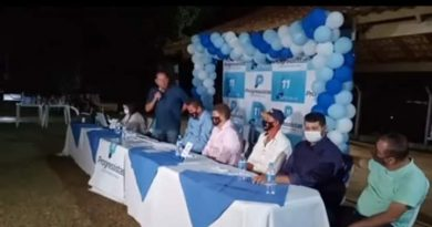 Em convenção, Solidariedade decide apoiar o vereador Saci (Progressistas) a prefeito de Terenos