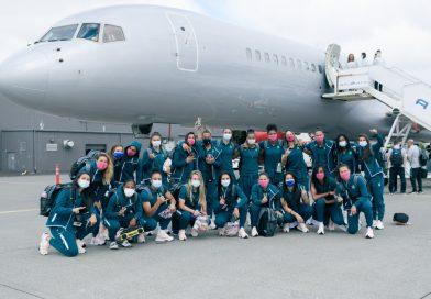 Seleção Feminina embarca rumo a Tóquio para a disputa dos Jogos Olímpicos