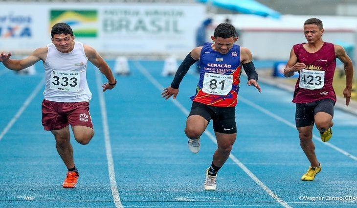 MS conquista dois ouros e um bronze no Campeonato Brasileiro Sub-16 de Atletismo